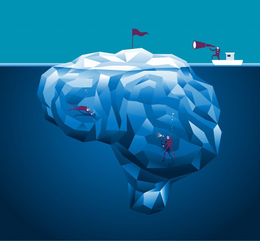 Brain iceburg